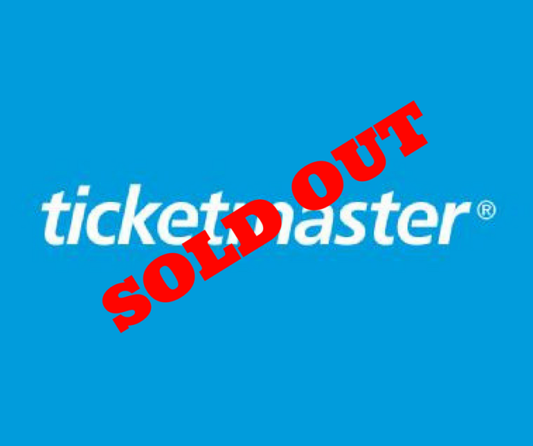 Ticketmaster Allocation SOLD OUT