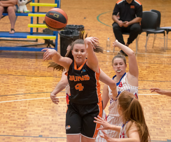 Rising Suns players have Kalamunda women on right track