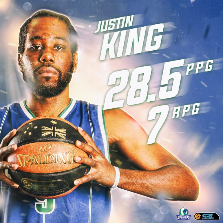 King Named MSBL Player of the Week