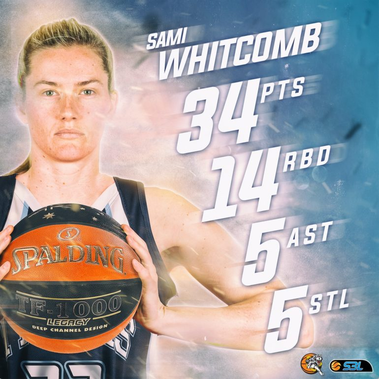Whitcomb Named WSBL Player of the Week