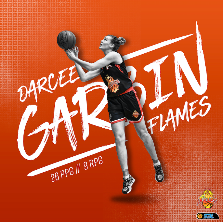 WSBL Player of the Week – Darcee Garbin (Rockingham Flames)