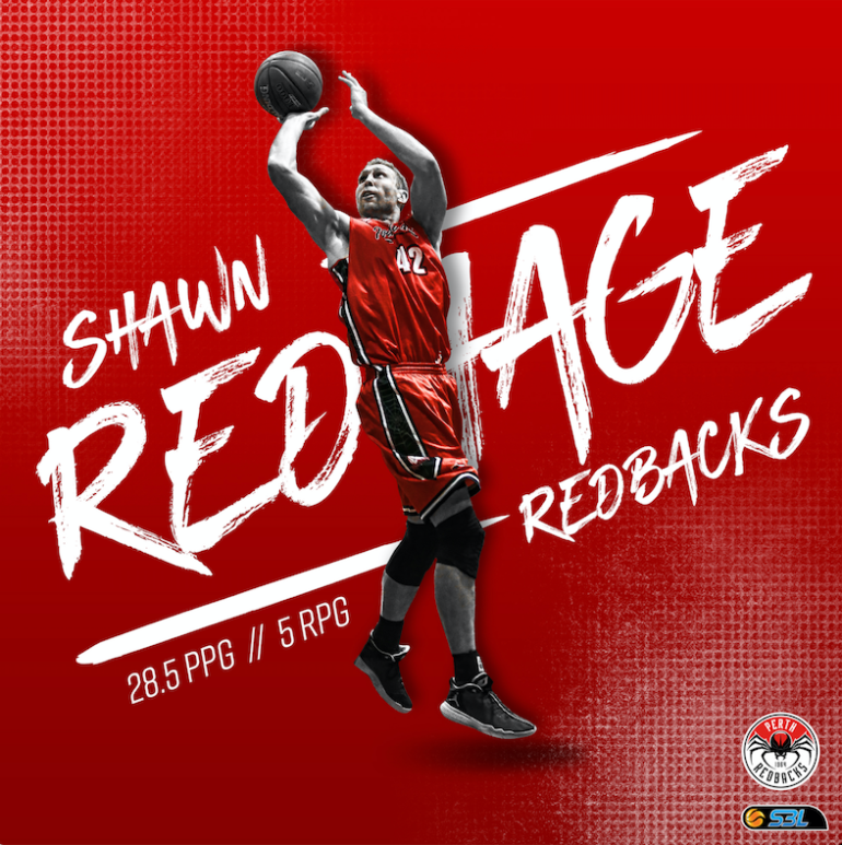MSBL Player of the Week – Shawn Redhage (Perth Redbacks)
