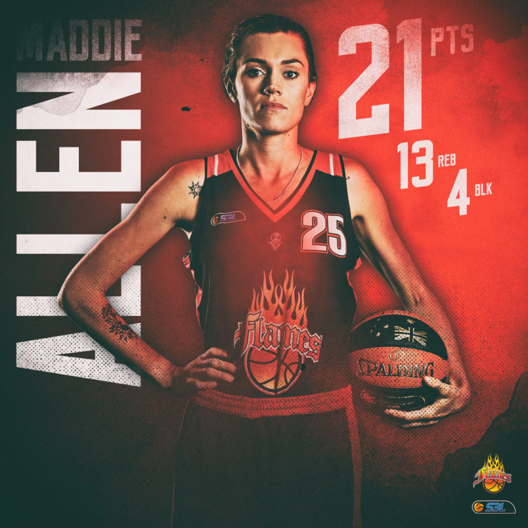 WSBL Player of the Week – Maddie Allen (Rockingham Flames)