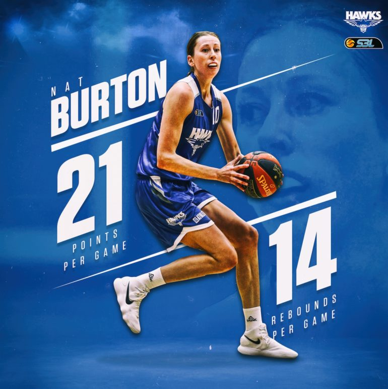 Burton Named WSBL Player of the Week