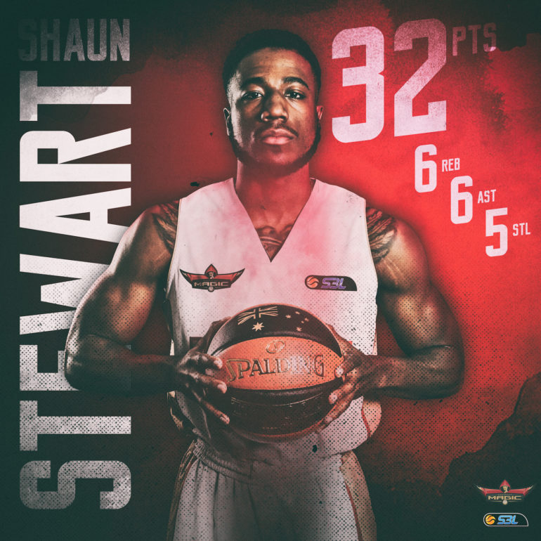 MSBL Player of the Week: Shaun Stewart (Mandurah Magic)