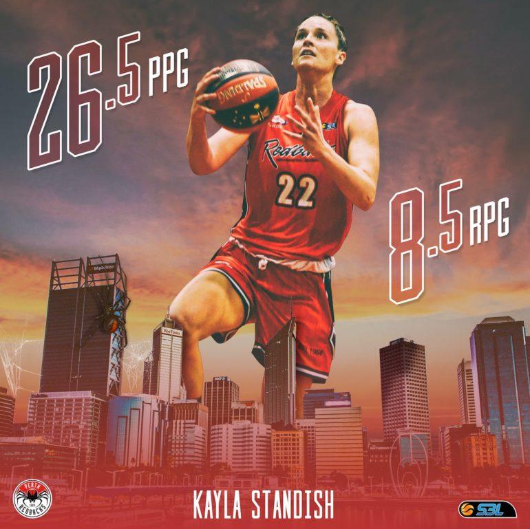 WSBL Player of the Week: Kayla Standish