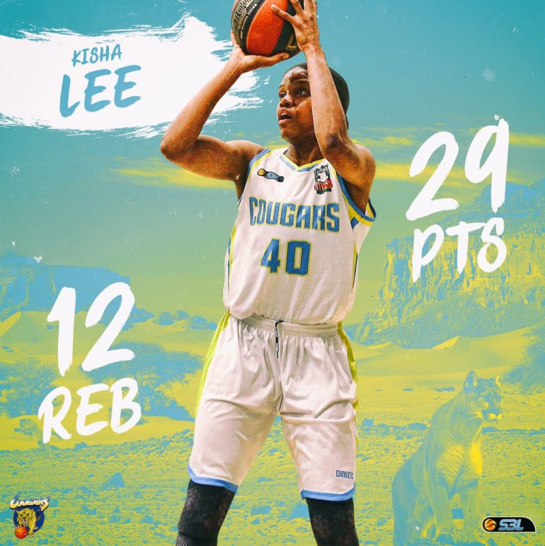 WSBL Player of the Week – Kisha Lee