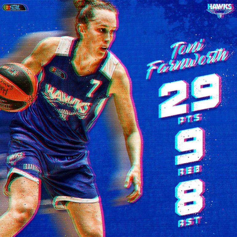 WSBL Player of the Week: Toni Farnworth
