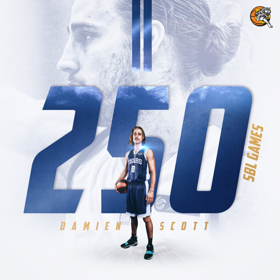 Damien Scott Reaches 250