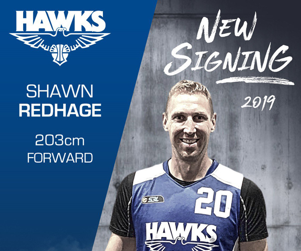 Redhage's competitive drive brings him to Hawks